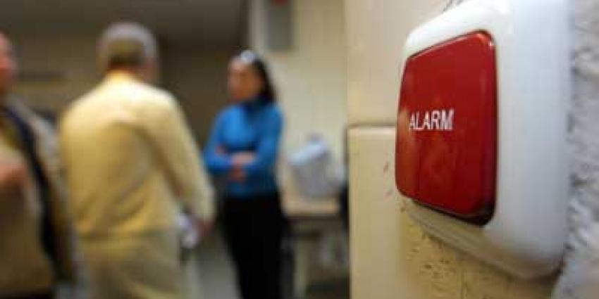 Foto van alarmknop in instelling | Archief EHF