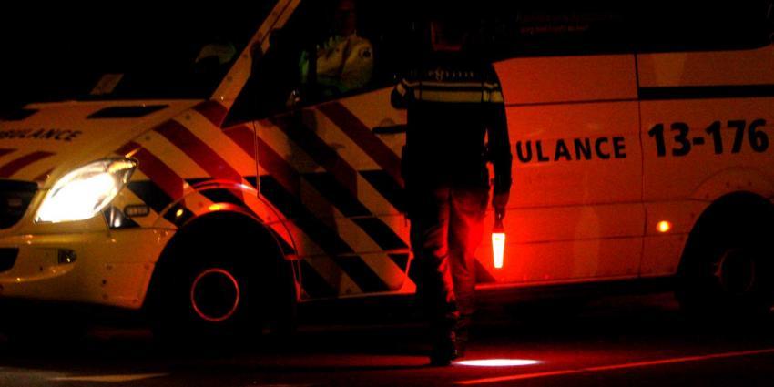 Man loopt ernstige brandwonden op na ontploffing en brand