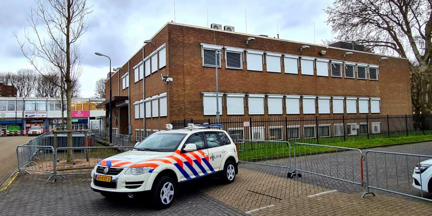 Extra beveiligde rechtbank Amsterdam Osdorp