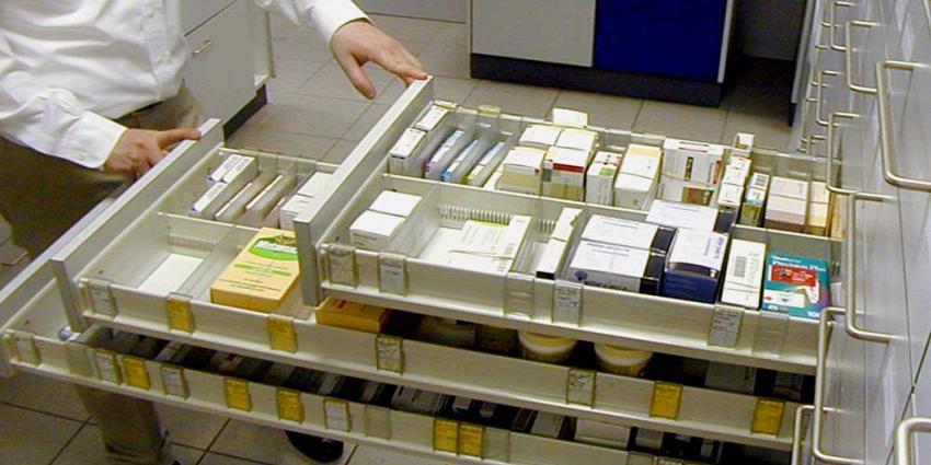 Foto van apotheek medicijnen recept | Archief EHF
