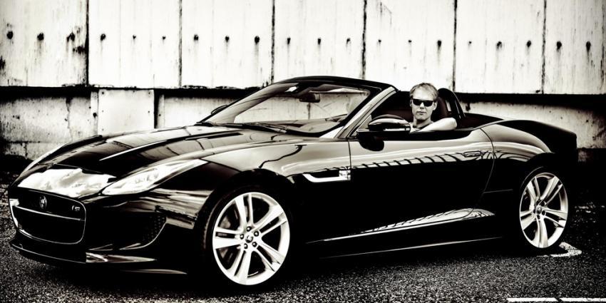 Foto van Armin van Buuren in Jaguar F-type | Jaguar