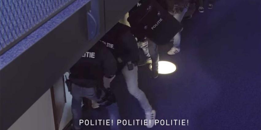 arrestatieteam-inval