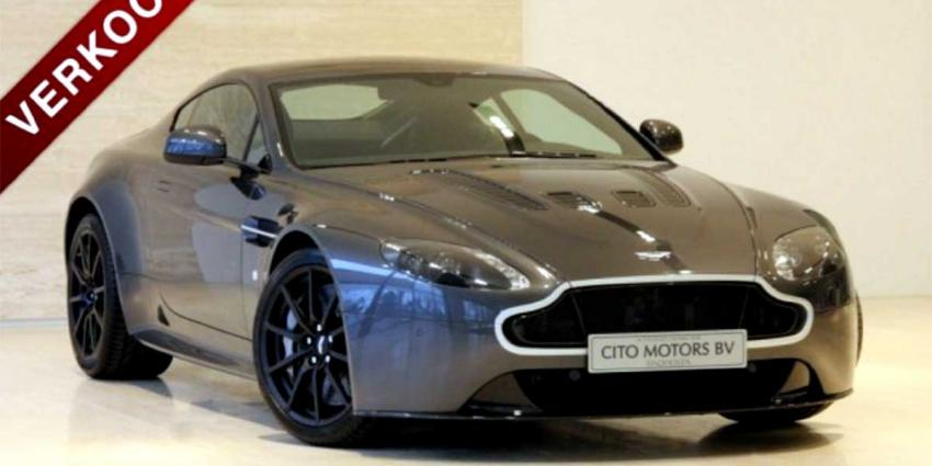 '2e hands' Aston Martin Max Verstappen met 4.128 km op teller al verkocht