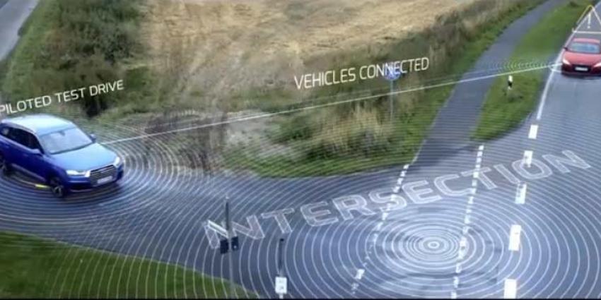 Audi's 'praten' met andere auto's en zien gevaar op kilometers afstand