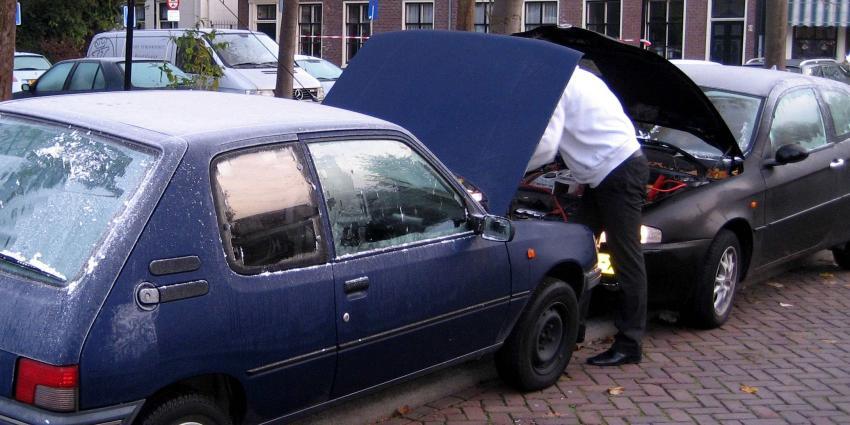 Franse auto's staan het meeste met pech