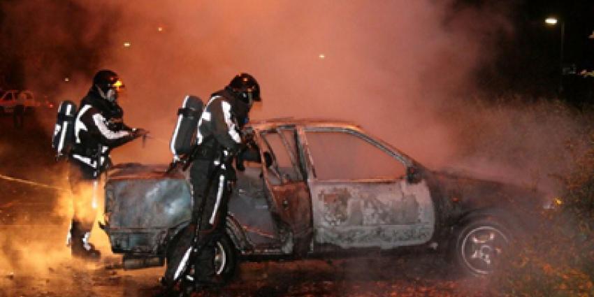 Foto van autobrand | Archief Flashphoto.nl | www.flashphoto.nl