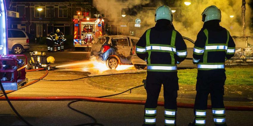 Meerdere auto's in vlammen op in Schijndel