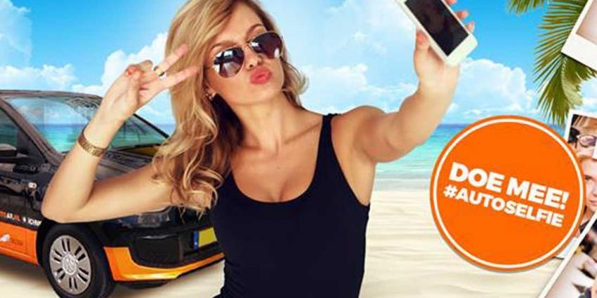 Is jouw originele selfie met een auto een jaar gratis rijden waard?