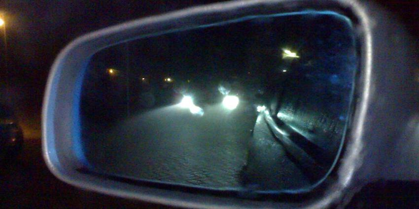 Belgische carjackers crashen op Hubertusviaduct Den Haag