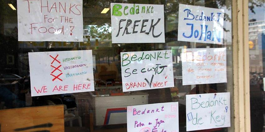 Asielzoekers in voormalig kantoorpand De Key | BON
