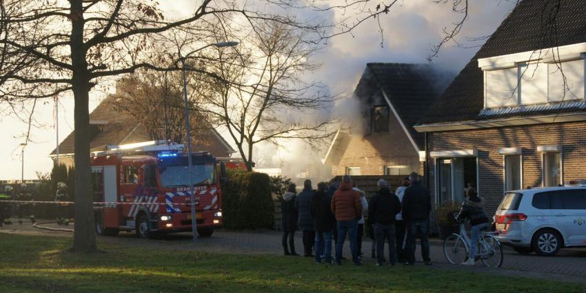 Brand in woning Nieuw-Dordrecht