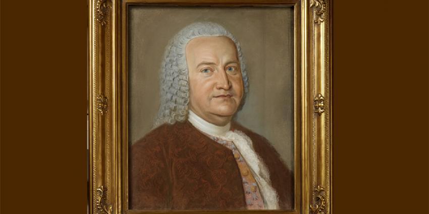 Foto van portret van Bach | Bachhuis Eisenach