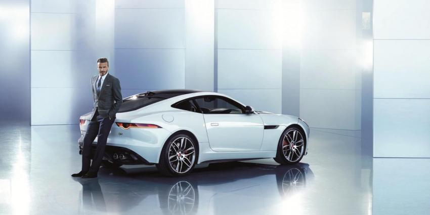 Foto van David Beckham bij Jaguar | Peter Lindbergh/Jaguar