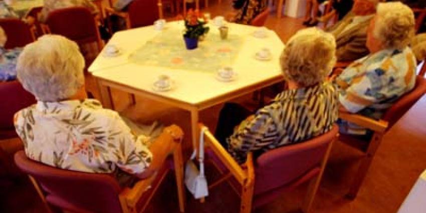 Foto van bejaarden verpleeghuis zorg | Archief EHF