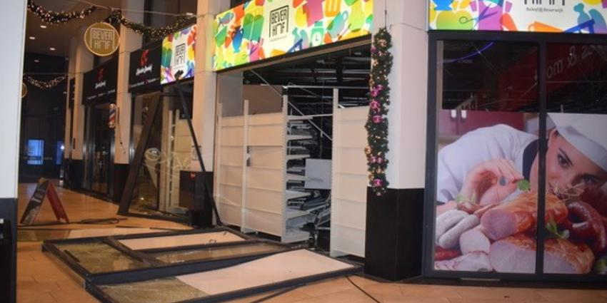 Explosie winkelcentrum Beverhof