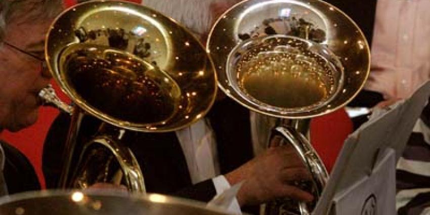 Foto van orkest blazers hoorn | Archief EHF