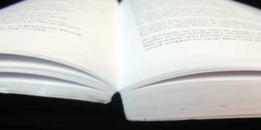 Foto van boek bladzijde | Archief EHF