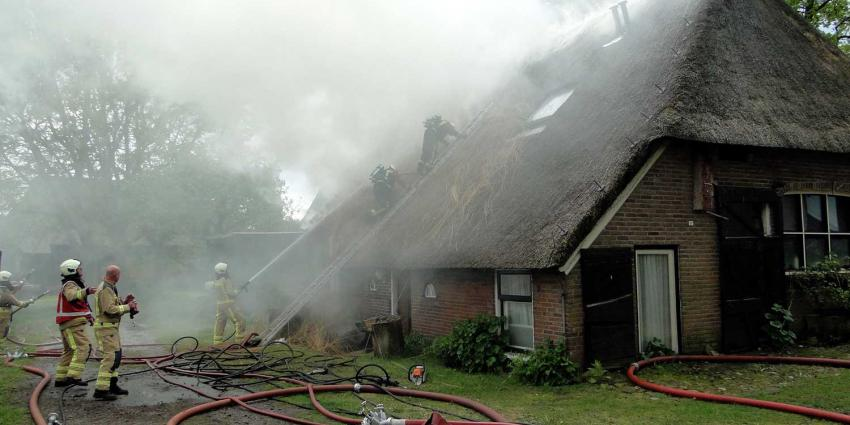 boerderij-dakbrand