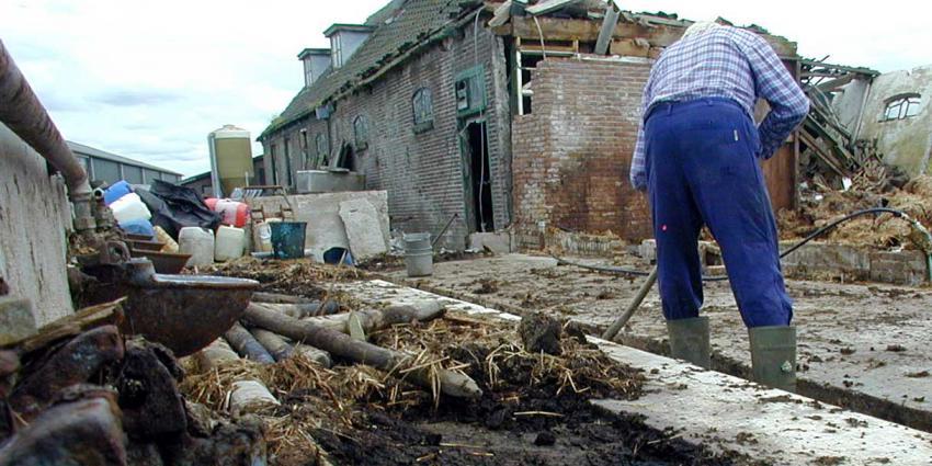 CBS: woningen in aardbevingsgebied Groningen moeilijker te verkopen