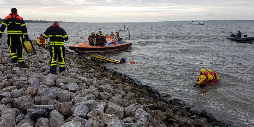 Onbeheerde boot in Hollands Diep gevonden