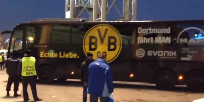 Drie explosies treffen spelerbus Borussia Dortmund, wedstrijd afgelast