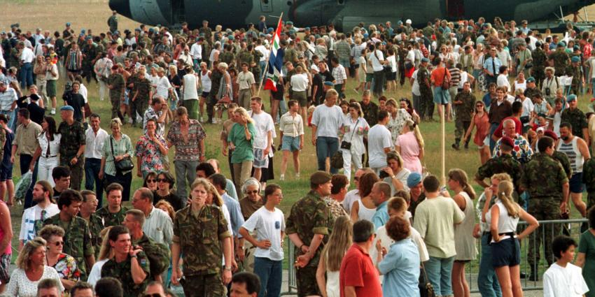 Srebrenica, Dutchbatters, moord, deportage