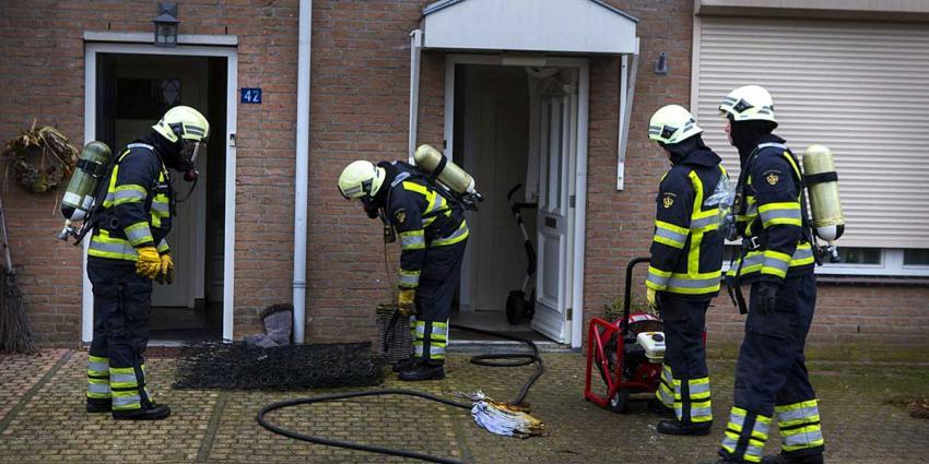 Woning in Sint-Michielsgestel onbewoonbaar na brand op bovenverdieping