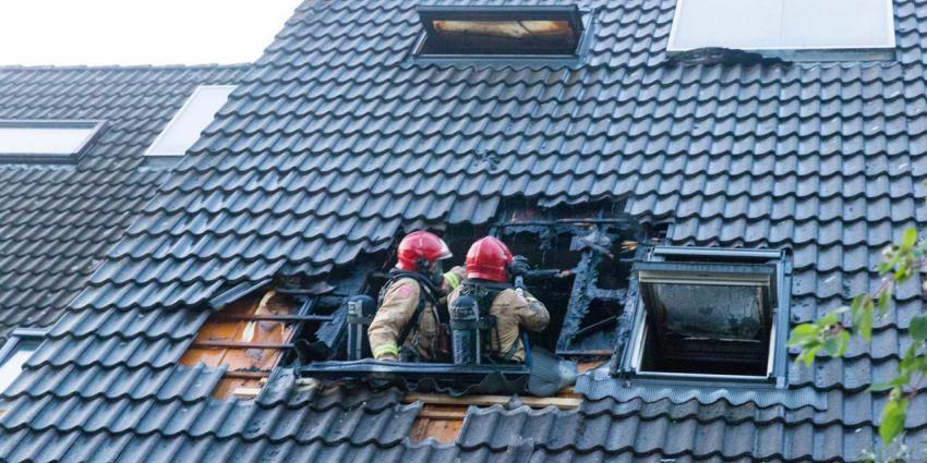 Uitslaande woningbrand in Groningen