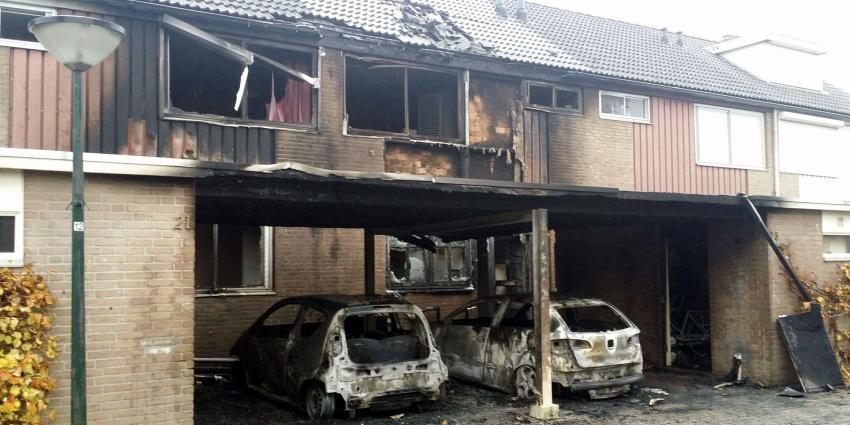 Verwoestende autobranden in Geldrop mogelijk aangestoken
