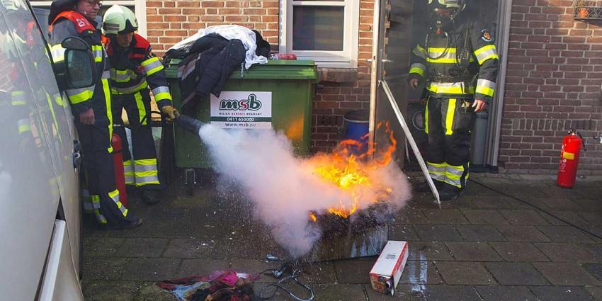 Frietpan in brand bij café 't Huukske in Liempde