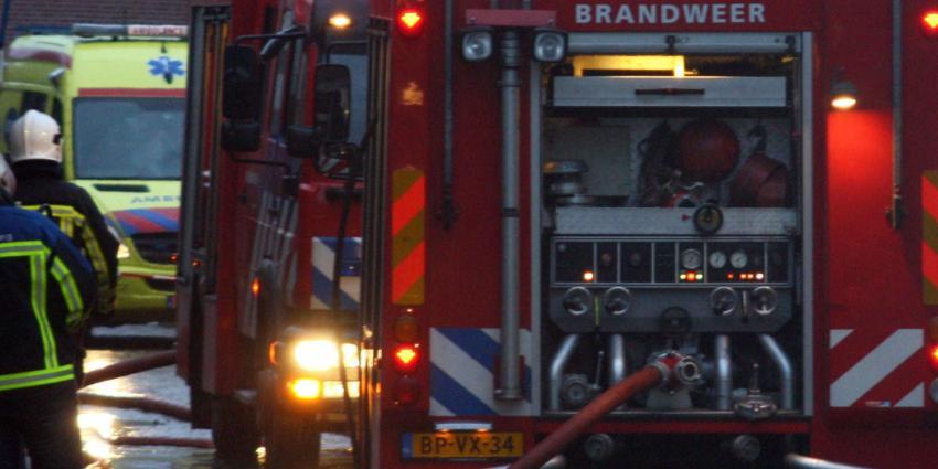 Vrouw omgekomen bij brandRotterdam