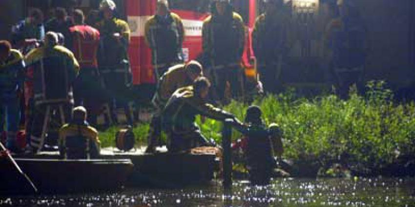 Foto van brandweer duiker avond | Archief EHF