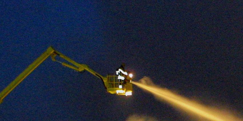 Grote brand in toren Sint-Laurentiuskerk in Weesp