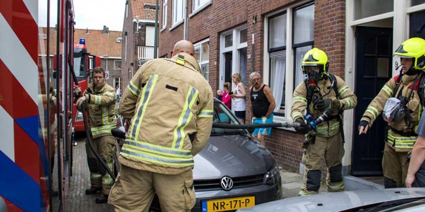 Brandje in woning Schiedam snel geblust