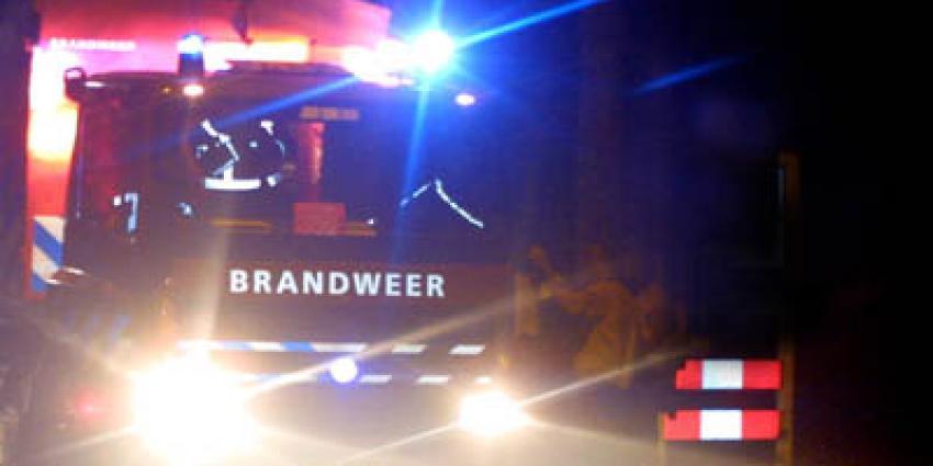 Foto van brandweerauto zwaailicht donker | Archief EHF
