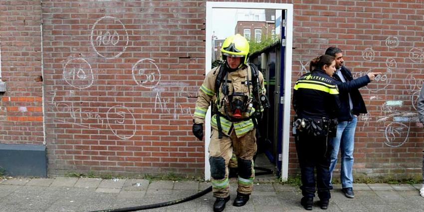 Uitslaande woningbrand blijkt brandende gasfles