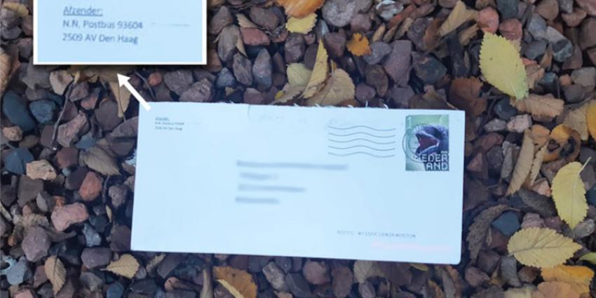 Een van de brieven