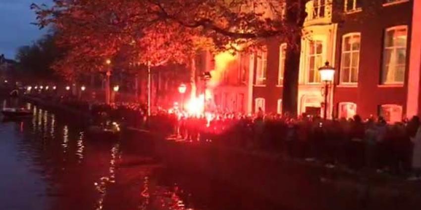 Eerbetoon aan zieke burgemeester van Amsterdam