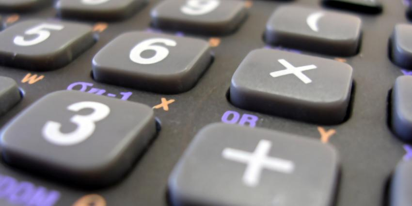 Foto van calculator | Sxc