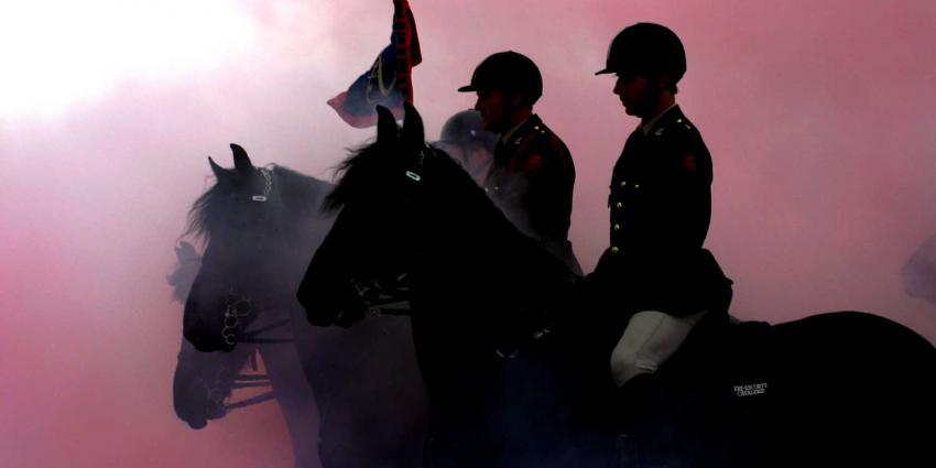 cavalerie-paard-oefening