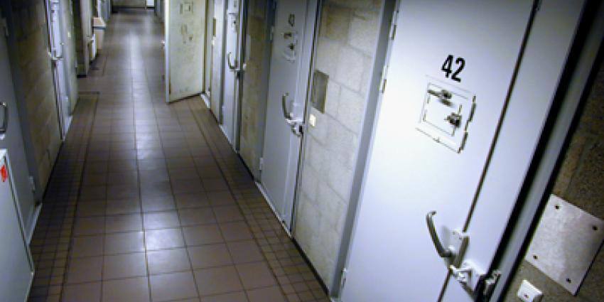 Foto van cellenblok gevangenis   Archief EHF