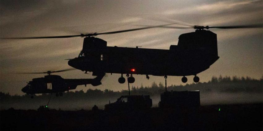 Defensieheli's Gilze-Rijen krijgen geen toestemming voor nachtvluchten