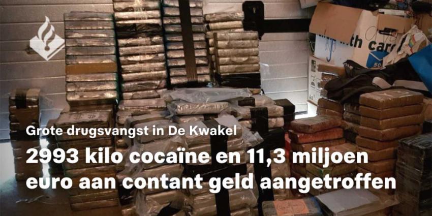 cocaine-kwakel-politie
