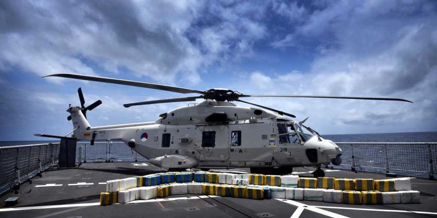 Marineschip onderschept 2.000 kg cocaïne