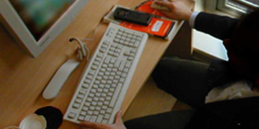 Foto van man achter computer | Archief EHF