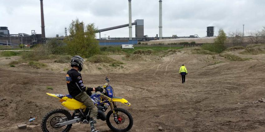 Crossbaan ''De Kuil' in IJmuiden deels op de schop om proeftuin Eneco