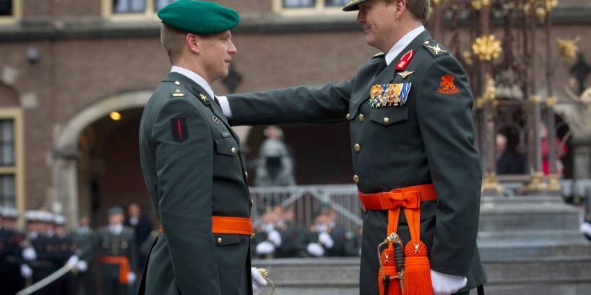Majoor Gijs Tuinman benoemd tot Ridder Militaire Willems-Orde