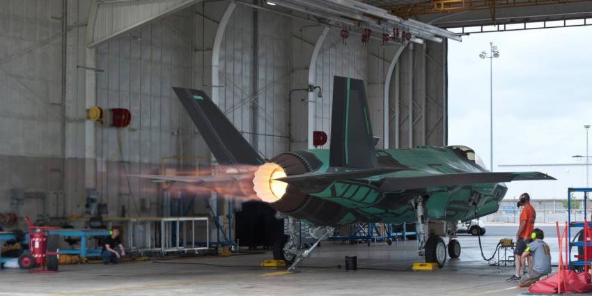Nieuw onderkomen voor onderhoud F-35-motoren defensie