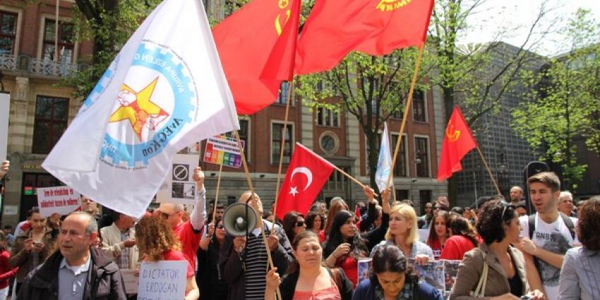 Demonstratie tegen Erdogan   BON