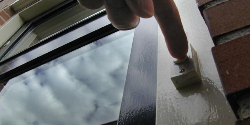Foto van voordeur deurbel | Archief EHF